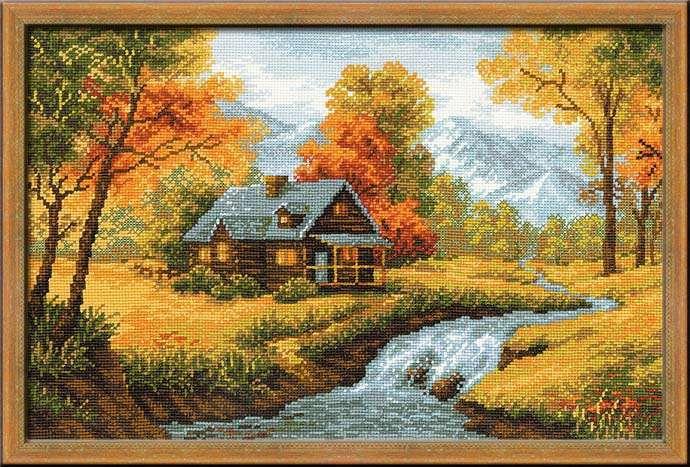 Наборы для вышивки крестом пейзаж 488